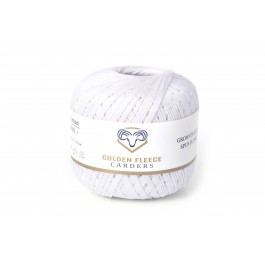 Pearl White - 100% Cotton Yarn - 50 grams