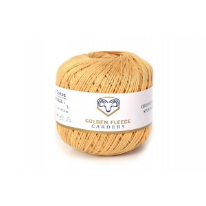 Butter Yellow - 100% Cotton Yarn - 50 grams